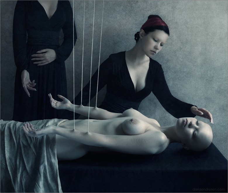Artistic Nude Surreal Photo by Artist Daria Endresen