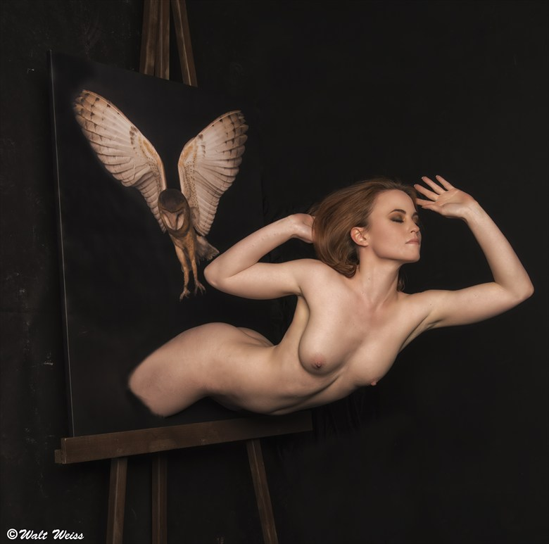 Artistic Nude Surreal Photo by Model AtenaMy