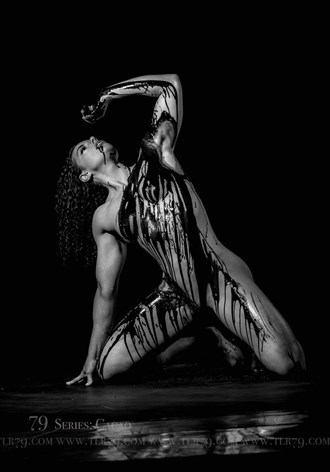 Artistic Nude Surreal Photo by Model Fe Hackett