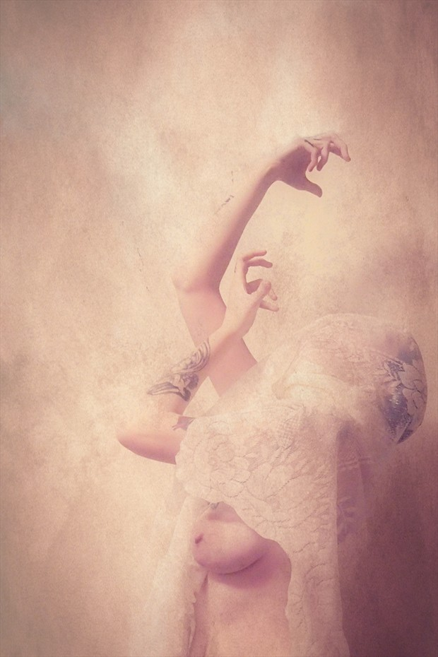 Artistic Nude Surreal Photo by Model Mary Geraldine