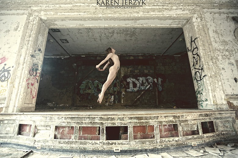 Artistic Nude Surreal Photo by Model MaryCeleste