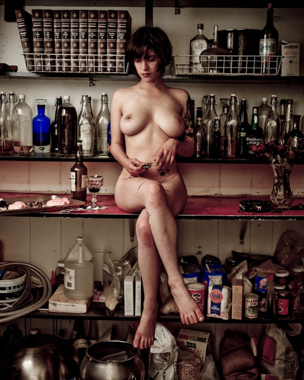 Artistic Nude Surreal Photo by Photographer Irakly Shanidze
