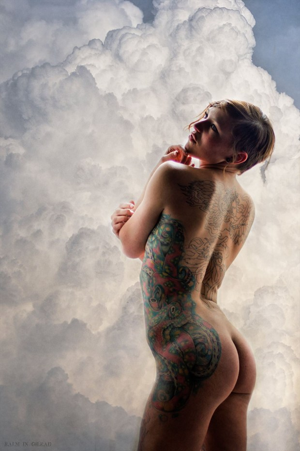 Artistic Nude Tattoos Photo by Model Amanda Morales