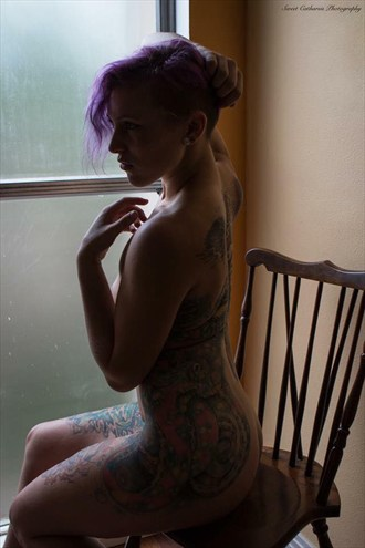 Artistic Nude Tattoos Photo by Model Amanda Morales
