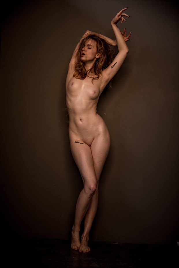 Artistic Nude Tattoos Photo by Model Amy Heather