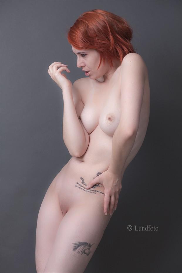 Artistic Nude Tattoos Photo by Model BlackLotus