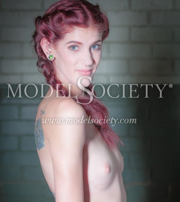 Artistic Nude Tattoos Photo by Model Helen Hellfire