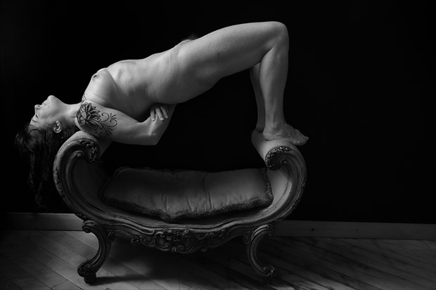 Artistic Nude Tattoos Photo by Model Inner Essence