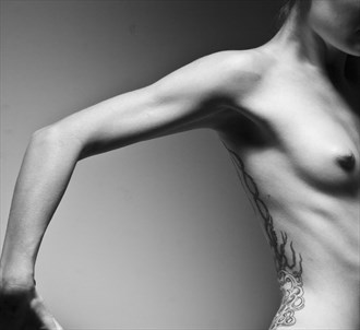 Artistic Nude Tattoos Photo by Model JilliArtistry