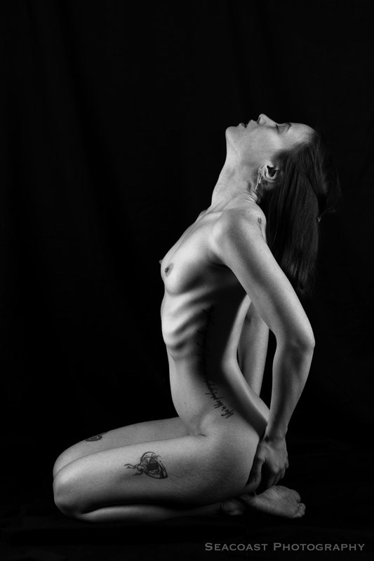 Artistic Nude Tattoos Photo by Model Julia French