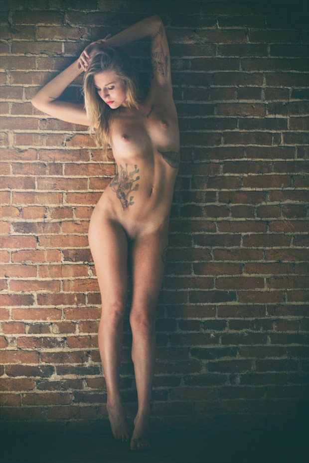 Artistic Nude Tattoos Photo by Model Kait Tesni