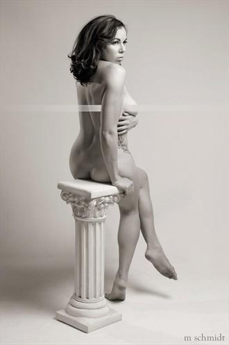 Artistic Nude Tattoos Photo by Model KatMarie