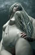 Artistic Nude Tattoos Photo by Model Kseniia