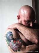 Artistic Nude Tattoos Photo by Model Paul LaBlanc