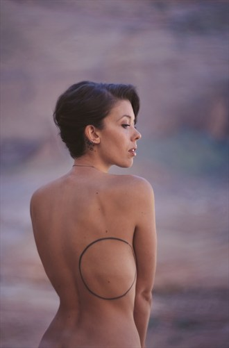 Artistic Nude Tattoos Photo by Model Rebecca Cameron
