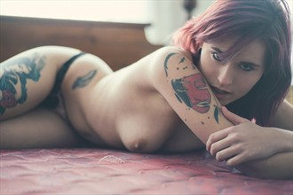 Artistic Nude Tattoos Photo by Model Tiffany Nacke