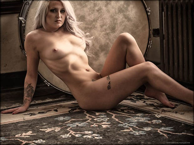 Artistic Nude Tattoos Photo by Model Whitney