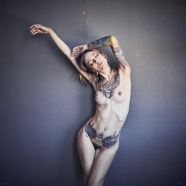 Artistic Nude Tattoos Photo by Photographer Edward Maesen