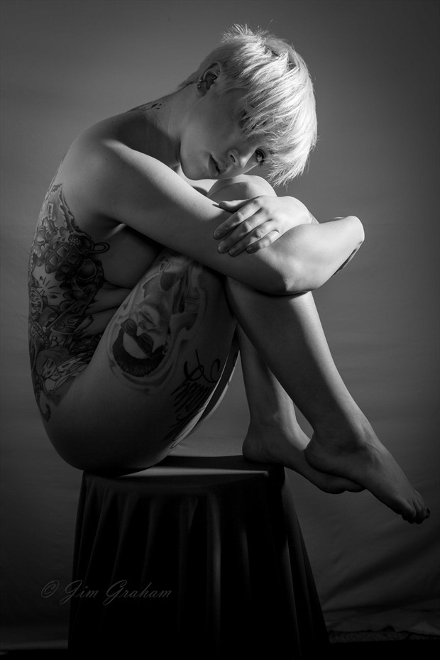 Artistic Nude Tattoos Photo by Photographer Jim Graham