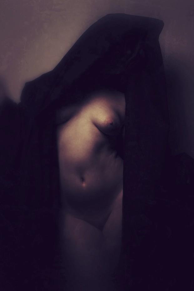 Artistic Nude Vintage Style Artwork by Artist David Bollt