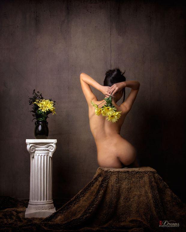 Artistic Nude Vintage Style Photo by Model A N O N Y M