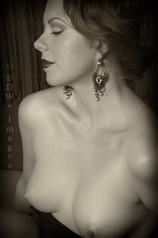 Artistic Nude Vintage Style Photo by Model Augusta Monroe