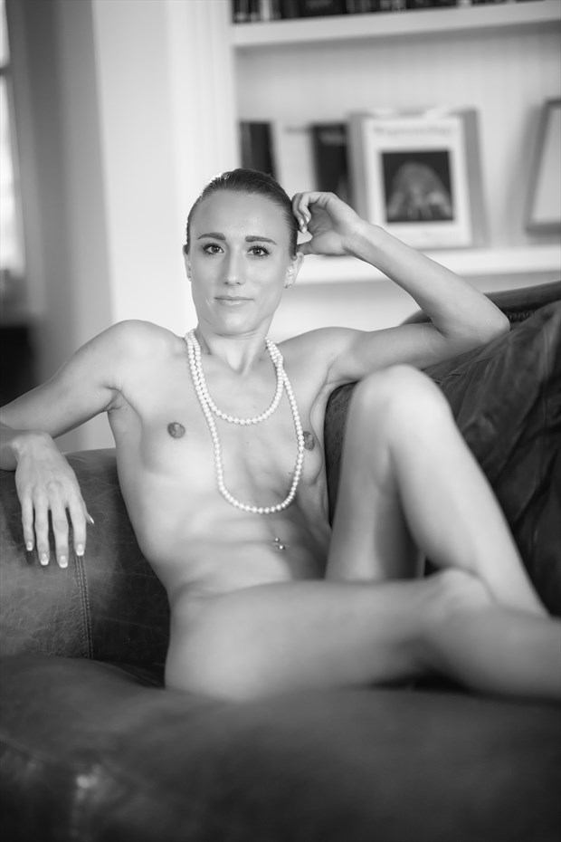 Artistic Nude Vintage Style Photo by Model Chelsea Jo