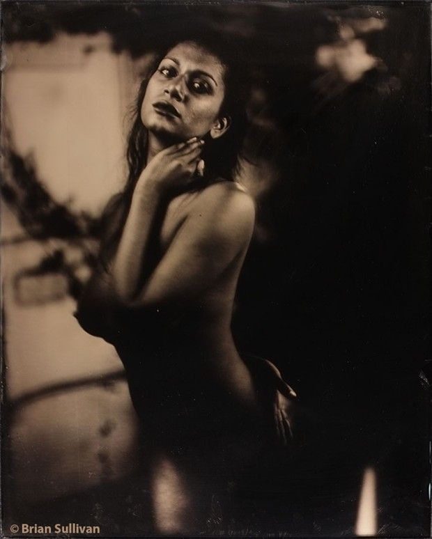 Artistic Nude Vintage Style Photo by Model Devi