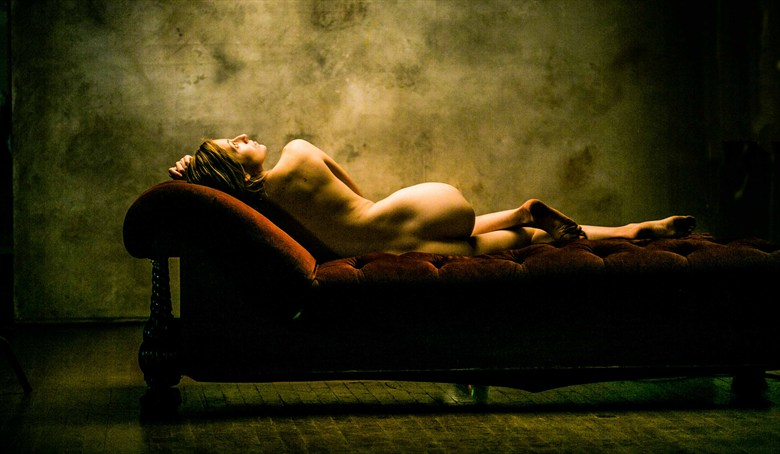 Artistic Nude Vintage Style Photo by Model Eleanor Kathryn