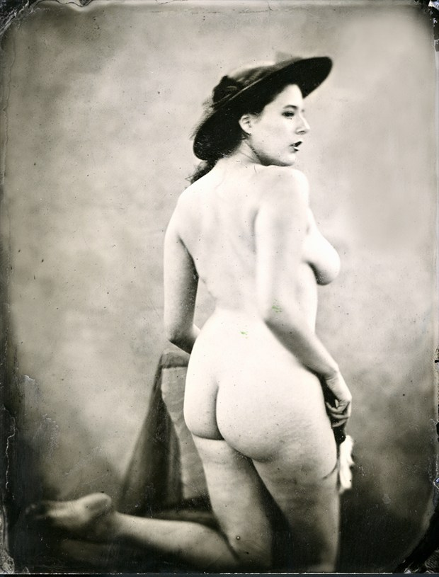 Artistic Nude Vintage Style Photo by Model Eleanor Rose