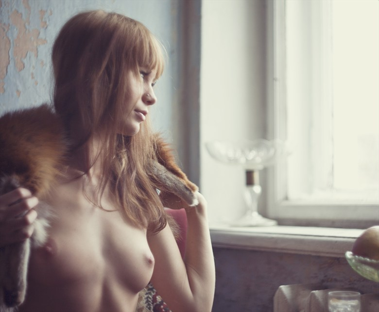 Artistic Nude Vintage Style Photo by Model Eva Evian