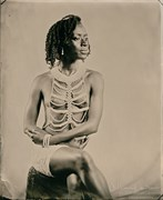 Artistic Nude Vintage Style Photo by Model Gazelle