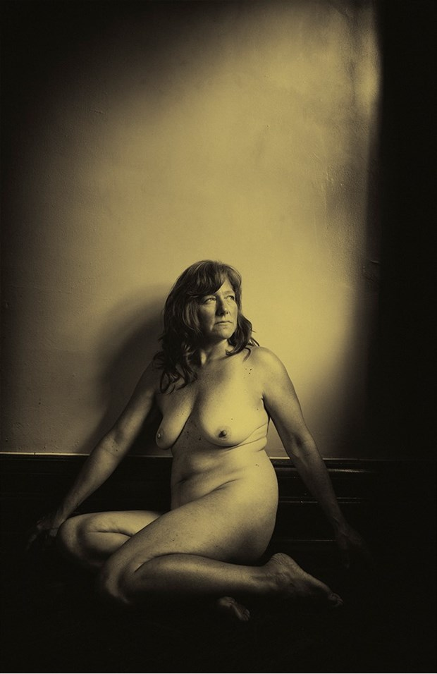 Artistic Nude Vintage Style Photo by Model Inner Essence