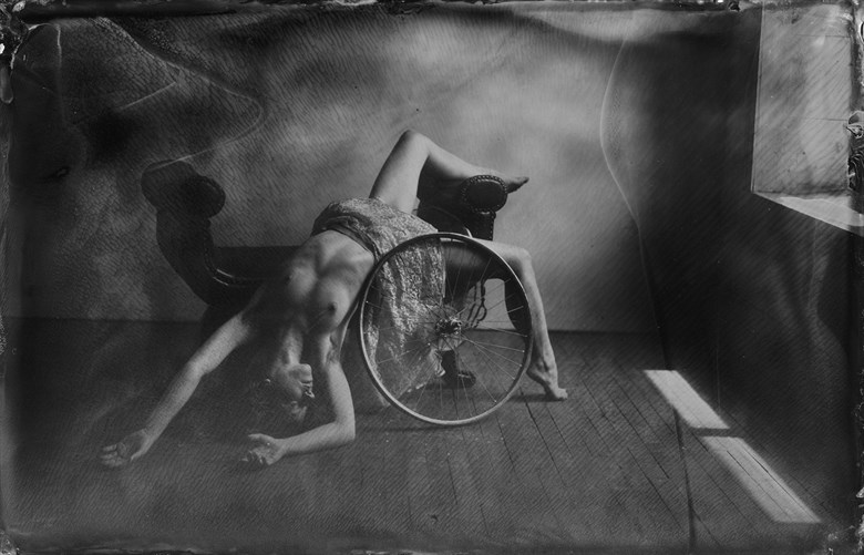 Artistic Nude Vintage Style Photo by Model Liv Sage
