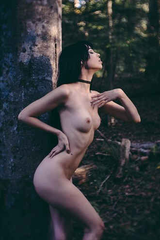 Artistic Nude Vintage Style Photo by Model Sonnie Marie