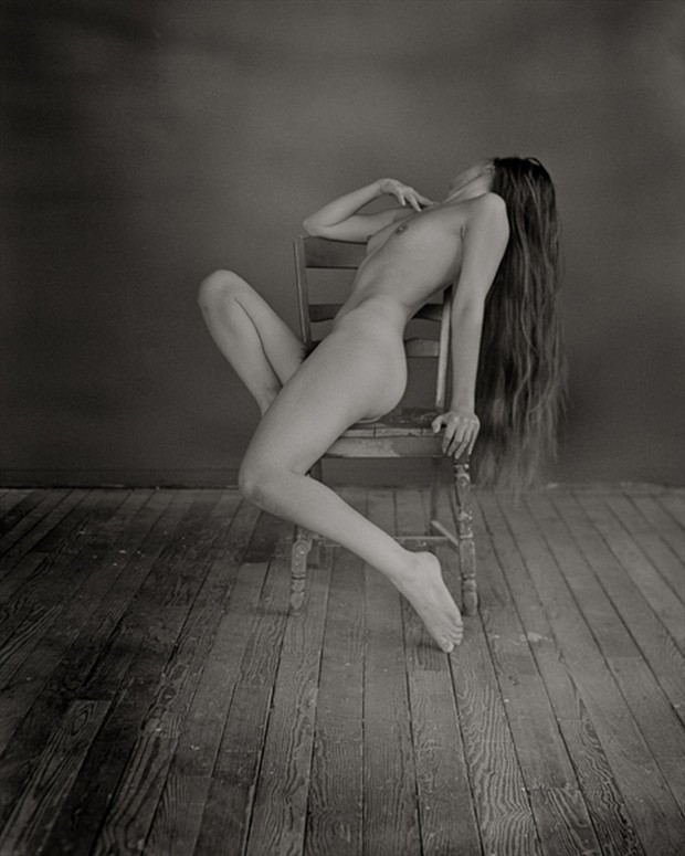 Artistic Nude Vintage Style Photo by Model blueriverdream