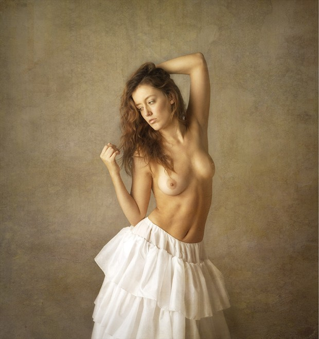 Artistic Nude Vintage Style Photo by Photographer MIchael Pannier
