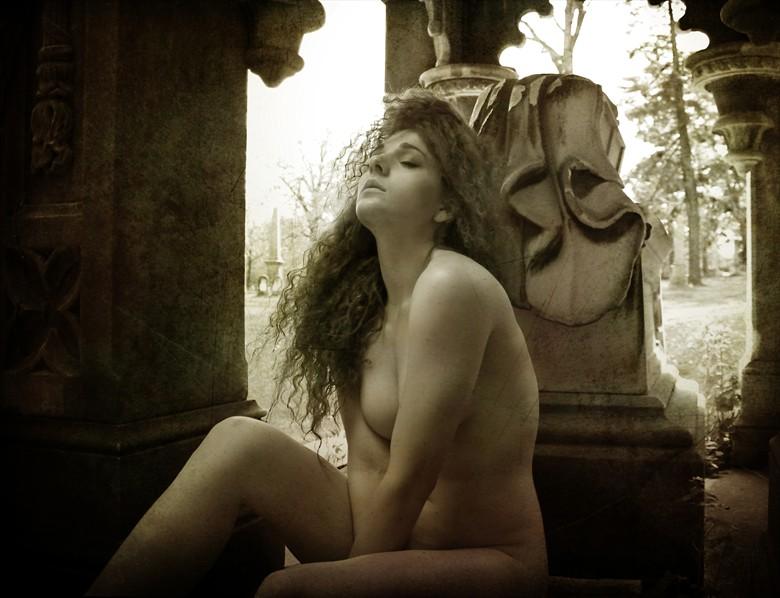 Artistic Nude Vintage Style Photo by Photographer MephistoArt