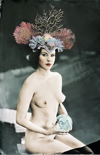 Artistic Nude Vintage Style Photo by Photographer Nalla Senrab
