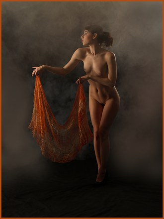 Artistic Nude Vintage Style Photo by Photographer Owen Roberts