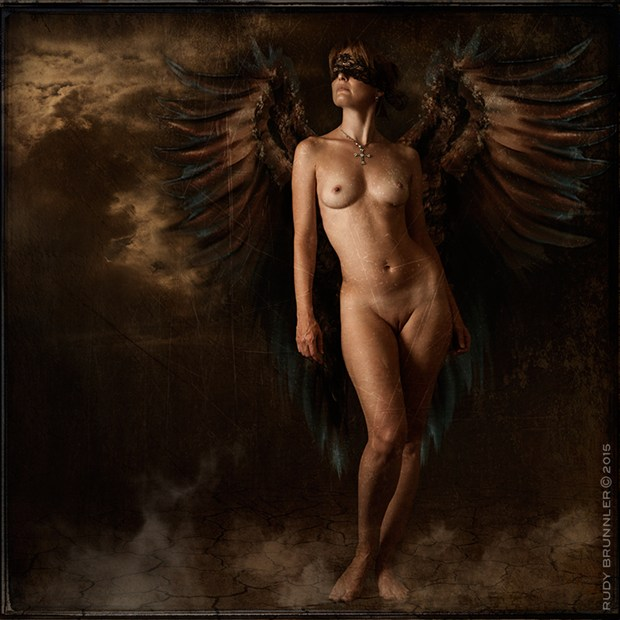 Artistic Nude Vintage Style Photo by Photographer RudyBrunnler