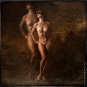 Artistic Nude Vintage Style Photo by Photographer RudyBrunnler