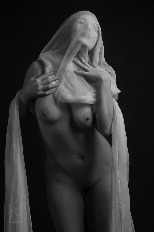 As the Veiled Pierce Your Dreams Artistic Nude Photo by Model Satya