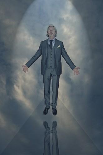 Ascension Surreal Artwork by Model Horace Silver