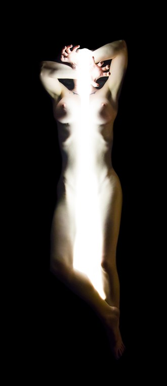 Ashley   The Light Pours Out of Her 02 Artistic Nude Photo by Artist Freddie Graves