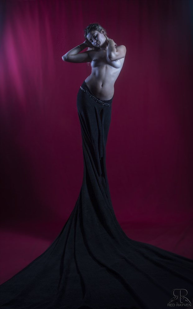 Ashley Artistic Nude Artwork by Photographer Red Rayven