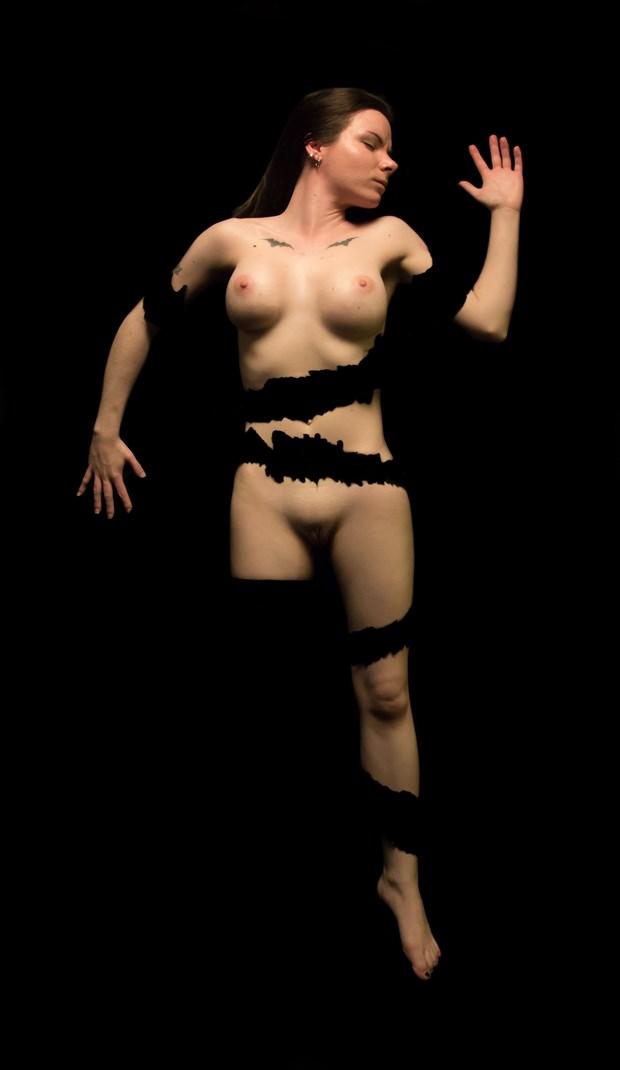 Ashley Shredded 01 Artistic Nude Photo by Artist Freddie Graves