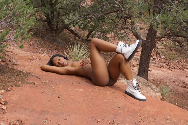 Ashley Symone  Artistic Nude Photo by Artist johnbehm24