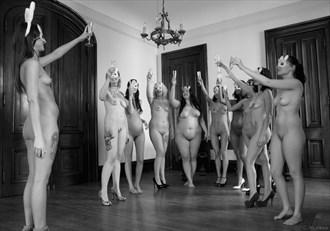 Ashlynn,Jordin,QuePid,Aurora Rouge,Mischief Vixen,DJ,Tori,Chloey,Cambria,Ariel Artistic Nude Photo by Photographer C Mirene