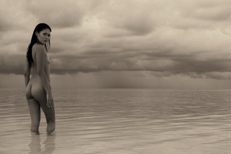 Asian Nymph Lagoon Temptation Artistic Nude Photo by Photographer Dominic C